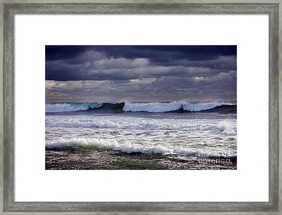 The Real Jersey Shore Framed Print