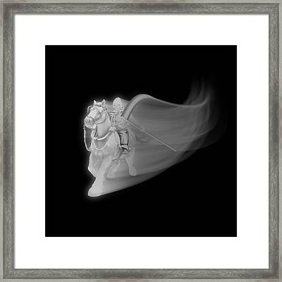 The Reaper Rides Again Framed Print by Gravityx9 Designs