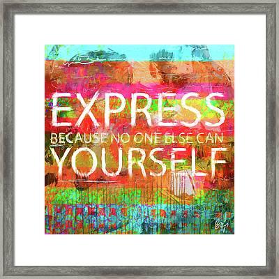 The Reason Framed Print