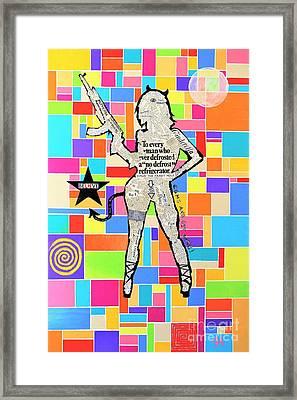The Rebel Framed Print