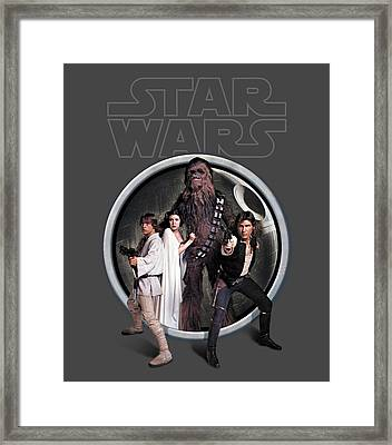 The Rebels Framed Print by Edward Draganski