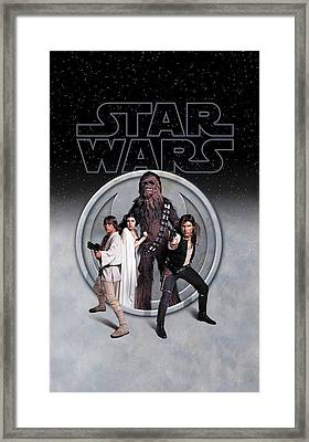 The Rebels Phone Case Framed Print by Edward Draganski