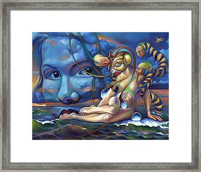 The Rebirth Of Venus Framed Print