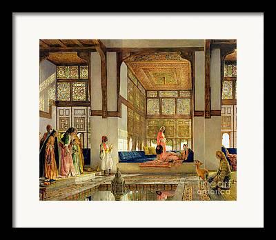 Seraglio Framed Prints