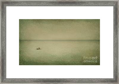 The Recesses Of The Deep Framed Print