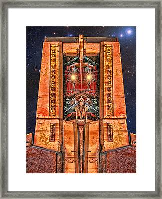 The Recycled King Framed Print