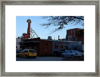 Framed Print featuring the photograph The Red Arrow by Lois Lepisto