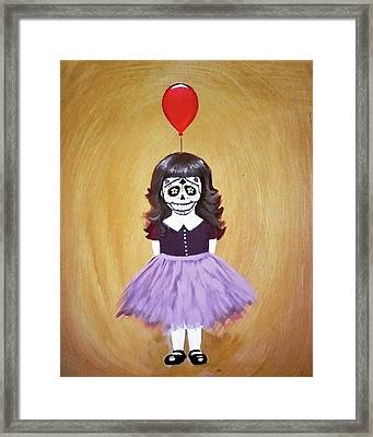 The Red Balloon Framed Print