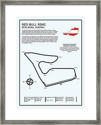 The Red Bull Ring Framed Print