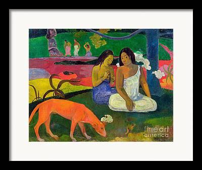 Paul Gauguin Framed Prints