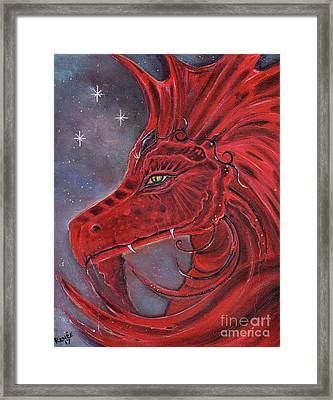 The Red Dragon Framed Print
