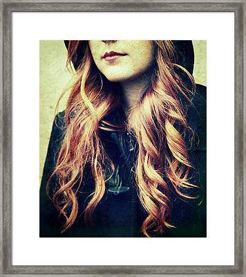 The Red-haired Girl Framed Print