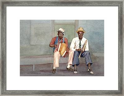 The Red Hots Framed Print