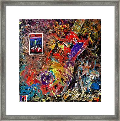 The Red Paintings Framed Print