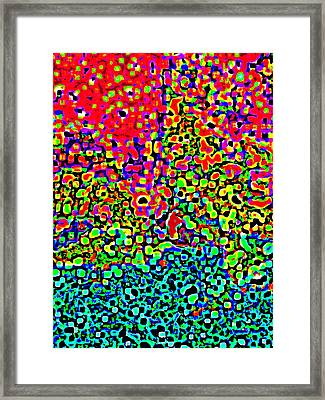 The Red Planet Framed Print by Wingsdomain Art and Photography