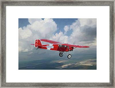 The Red Red Robin Framed Print