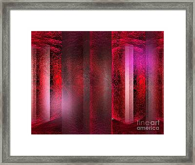 The Red Room Framed Print