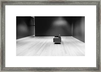 The Red Room Redux Framed Print
