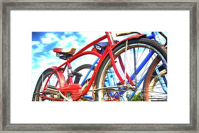 The Red Shelby  Framed Print by Steven Digman