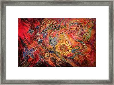 The Red Sirocco Framed Print by Elena Kotliarker
