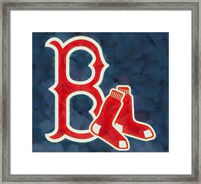 The Red Sox Framed Print