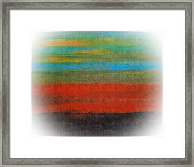 The Red Stripe -or- Meditation Number 28 Framed Print by Scott Haley
