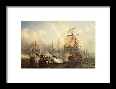 Galleons Framed Prints