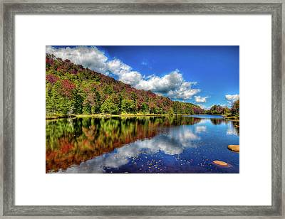 The Reds Of Autumn Framed Print by David Patterson