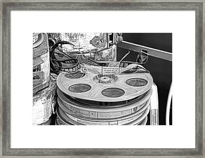 The Reel Thing  Framed Print