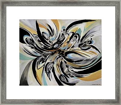 The Reflecting Expression Framed Print