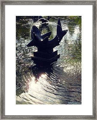 The Reflecting Pool Framed Print by Garth Glazier