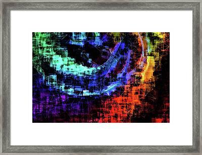 The Reflection In God's Eye Framed Print