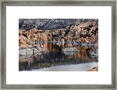 The Reflections Of Beauty  Framed Print by Thomas Todd