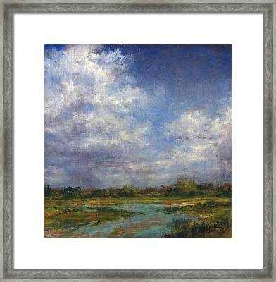 The Refuge In July Framed Print