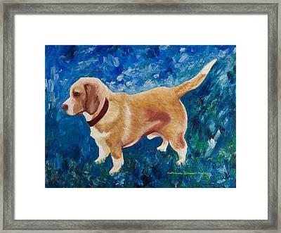 The Regal Beagle Framed Print