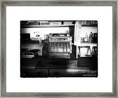 The Register  Framed Print by Steven Digman