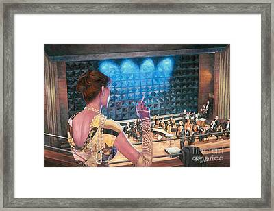 The Rehearsal Framed Print by Theo Michael