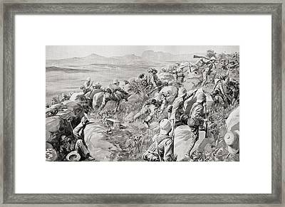 The Relief Of Ladysmith, February 1900 Framed Print by Vintage Design Pics