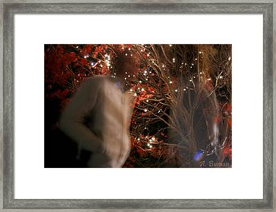 Framed Print featuring the photograph The Remains Of A Magical Memory by Angelique Bowman
