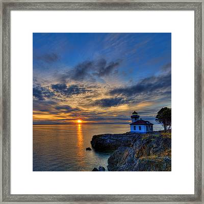 The Remains Of The Day Framed Print by Dan Mihai