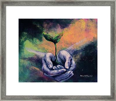 The Renascence Framed Print