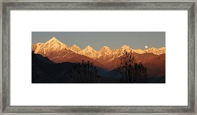The Rendezvous. A Panorama. Framed Print