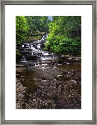The Rensselaerville Falls 2 Framed Print