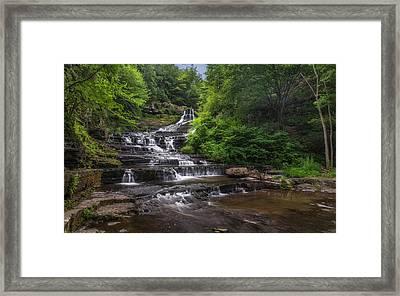 The Rensselaerville Falls Framed Print