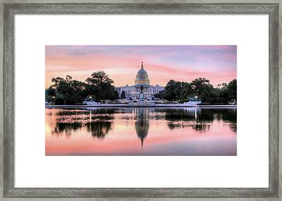 The Republic Awakens Framed Print
