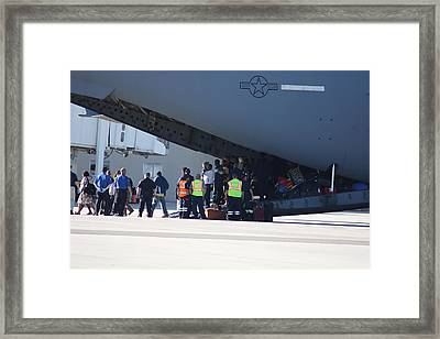 Framed Print featuring the photograph The Rescue by Michael Albright