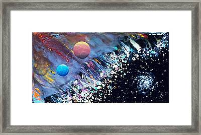 The Rescue Of Earth Framed Print by Lee Pantas