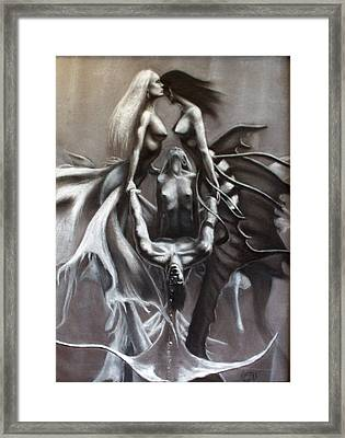 The Rescue Of Odysseus Framed Print by T Ezell