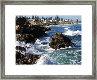 The Restless Sea Framed Print
