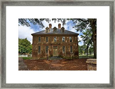 The Restored Brafferton Framed Print